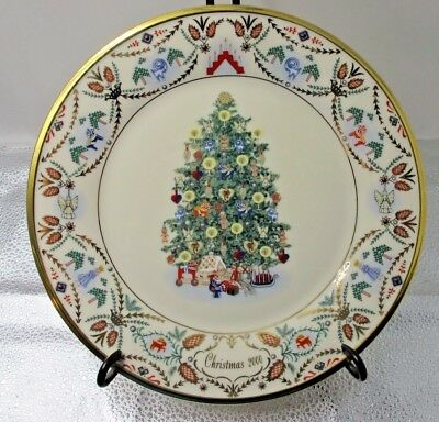 Lenox Christmas Trees Around The World Plate - 10Th In Series - 2000 - Sweden