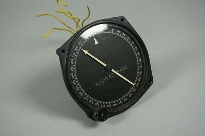 Bendix Radio Compass Aviation 1-82-A PL118 US Army WW2 B-17 B-24 1.149Z