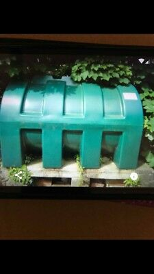 Domestic central heating oil tank