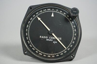 Bendix Radio Compass Aviation 1-82-A PL-118 WW2 B-17 B-24 US Army 1.149Z