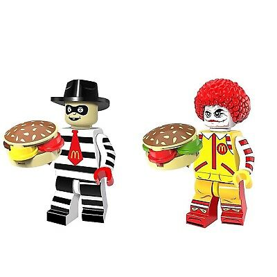 Ronald McDonald Hamburglar Action Mini Figur Sammler McDonalds Clown Figuren NEU