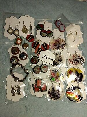HUGE WHOLESALE LOT OF JEWELRY MAKING  ** WIDE VARIETY **  42 pieces of items