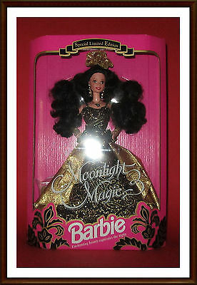 seltene alte vintage MOONLIGHT MAGIC BARBIE (Mattel 1993 #10608) Limited Edition