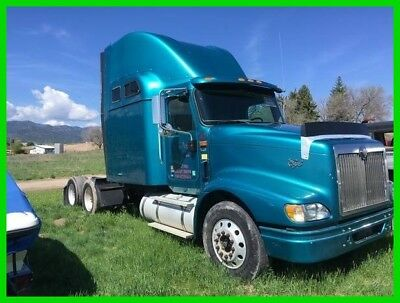 2006 International 9400i Commercial Conventional Sleeper Semi Truck TrSBA 6x4