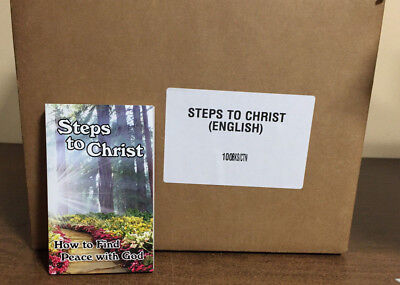 Steps to Christ  by Ellen G. White (Case of 100)