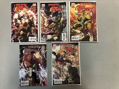 Young Avengers 1-5 Complete Set Dark Reign Marvel Comics