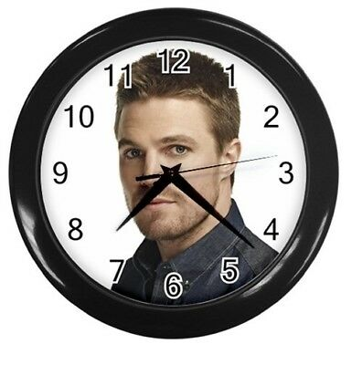 STEPHEN AMELL 10 inch 25cm COLLECTIBLE WALL CLOCK 137896041