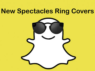 NEW 2nd Generation Snapchat Spectacles Yellow Ring Black Out Kit