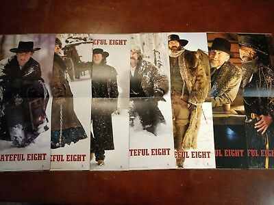 The Hateful Eight 70MM Roadshow Programme Booklets - FULL SET - ALL 7 CHARACTERS