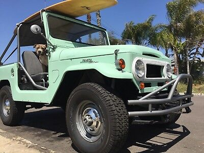 1965 Toyota Land Cruiser  FJ40 that needs nothing and is a great driver!