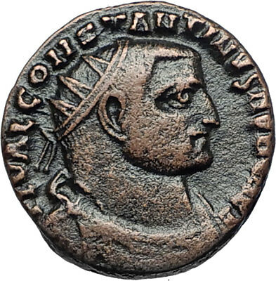 CONSTANTINE I the GREAT Rare Possibly Unpublished Ancient Roman Coin i67967