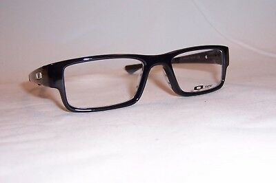 NEW OAKLEY EYEGLASSES AIRDROP OX 8046 8046-02 BLACK INK 51mm RX AUTHENTIC 804602