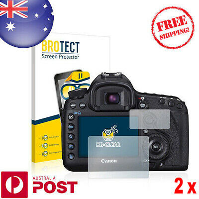 2x BROTECT® HD Clear Screen Protector for Canon EOS 5D Mark III - P056AF