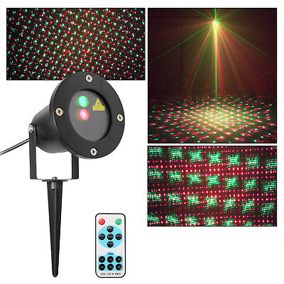 LED Laser Light Outdoor Garden Projector Multi Mode for Wedding Party Decoration