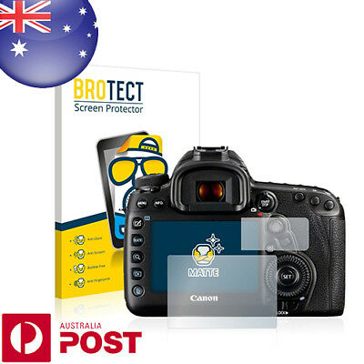 2x BROTECT® Matte Screen Protector for Canon EOS 5D Mark IV - P011A