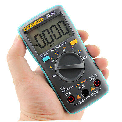 Digital Multimeter Backlight AC/DC Ammeter Voltmeter Ohm Portable Meter *3