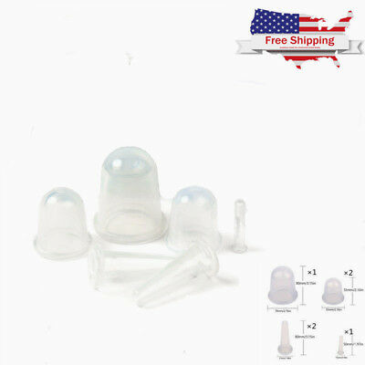 100% Medical Silicone Anti Cellulite Massager Vacuum Therapy Massage Cupping Cup