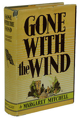 Gone with the Wind by MARGARET MITCHELL ~ First Edition ~ 1st Issue DJ May 1936