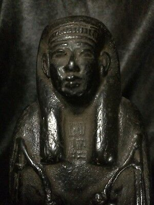 ANCIENT EGYPTIAN PHARAOHS ANTIQUITIES Ushabti Shabti Egypt Stone Luxor 19 BC