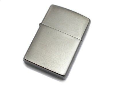 Zippo Classic 200 Brushed Chrome Lighter NEW AUTHENTIC FAST SHIPPING