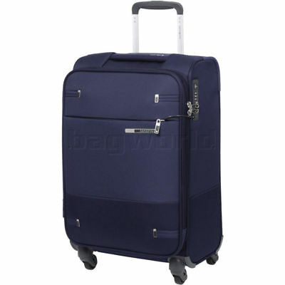 Samsonite Base Boost Small/Cabin 55cm Expandable Softside Suitcase Blue 88160