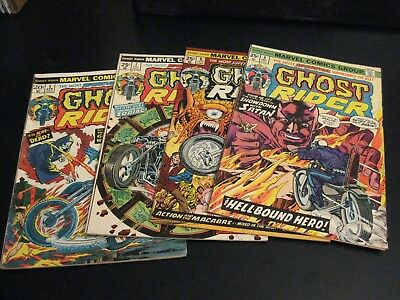 Wow! MEGA-LOT of *45* GHOST RIDER! ≈ #5-81, Mostly (FN+) & (FN/VF)