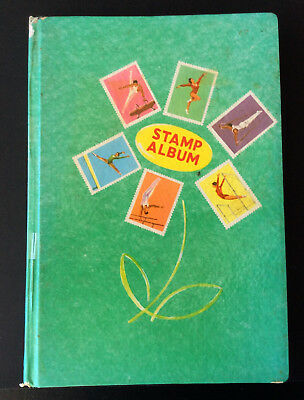 Stamp Album 260mmx180mm collection of Australian Pre-decimal and decimal stamps
