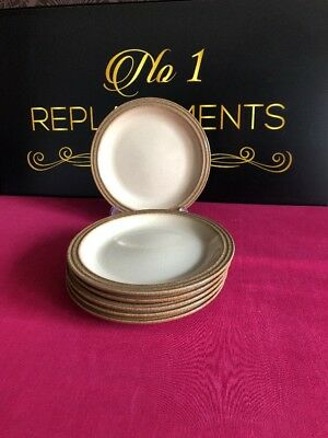 6 x Denby Camelot Side / Tea Plates 6.25""