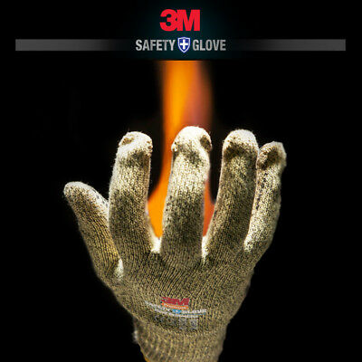 3M Safety Glove Aramid Heat Protective Gloves Against Thermal Risks Heat Fire
