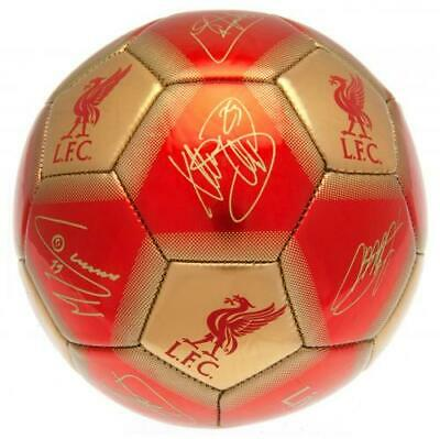 Liverpool Fc Lfc Signature Football Adult Size 5 New Xmas Christmas Gift