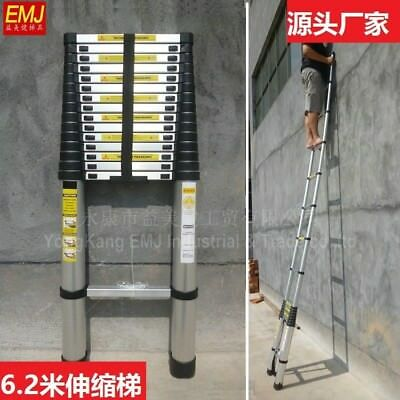 6 meters  ladder aluminum  thickening folding household lifting staircase