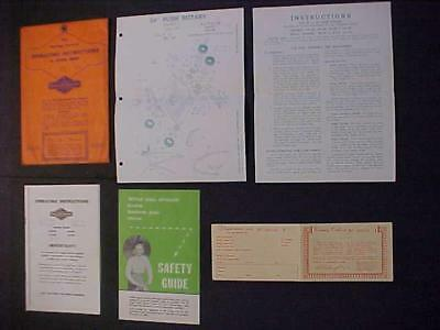 Lawnmower Engine Operating Instruction Manual Old Briggs & Stratton Vintage 1959