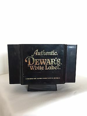 Vintage Authentic Dewar's White Label Stand
