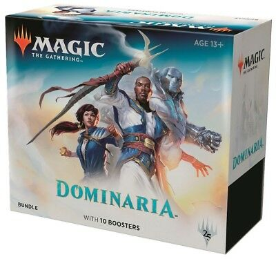 Magic The Gathering Dominaria Bundle (Englisch) Wizards 10 Booster Fat Pack