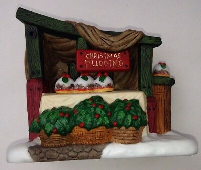 """Dept 56 REPLACEMENT PIECE Christmas Pudding STAND 4"""" X 3"""""""