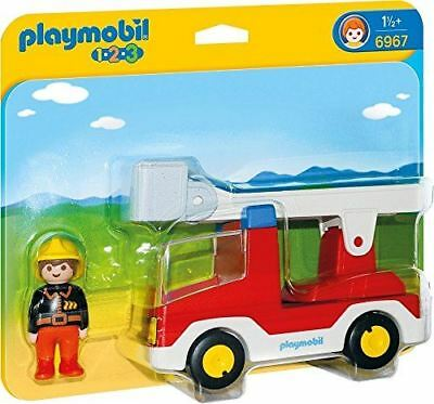 Playmobil Ladder Unit Fire Truck Building Kit 6967 - NEW