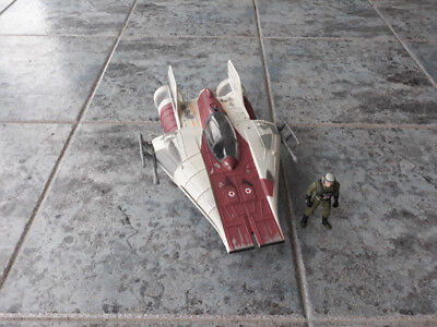 "Star Wars Vintage ""A- Wing Fighter"" Hasbro"
