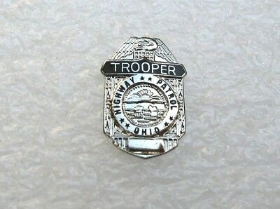 Pin's Ohio Highway Patrol Trooper Pins Pin Police Usa Us T12