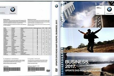 BMW ROAD MAP EUROPE BUSINESS 2017 (latest version) DVD 1+2!!!