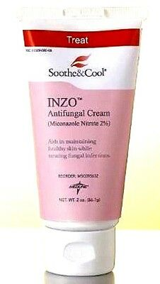 Soothe & Cool INZO Antifungal Cream 2oz 080196748177YN