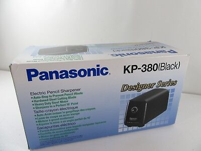 Panasonic KP-380 Auto Stop Electric Pencil Sharpener New In Box