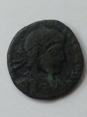 Bronze Roman Coin ? (Unresearched) 9 mm Diameter
