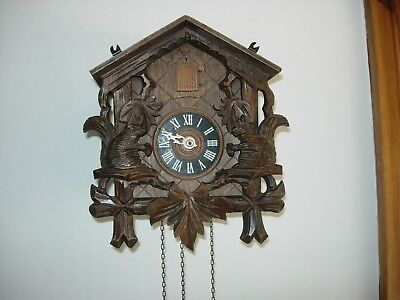 VINTAGE CUCKOO CLOCK  Black Forest.  D. Hones
