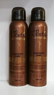 TANNING FOR ISRAEL 2 MOUSSE THAT'SO SUN MAKE-UP TAN whit DHA color DARK 150ml.