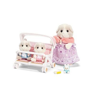 Calico Critters Patty And Paden's Double Stroller Set CC2625 - NEW