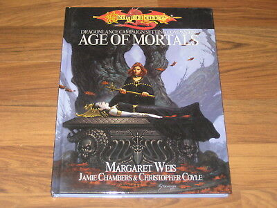 D&D 3.5 Dragonlance Age of Mortals Hardcover WTCSVP4001 Accessory 2003 VG
