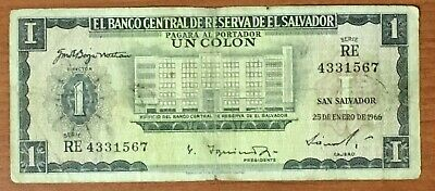 EL SALVADOR 2 COIN SET OF 5 + 10 CTS SEVERAL YEARS -  2  COINS of 70's