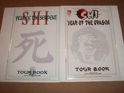 Shi: Year of the Dragon Tour Book & Year of the Serpent Bagged & Boarded unread