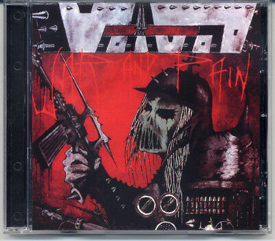 """Voivod """"War And Pain"""" 1984, CD"""