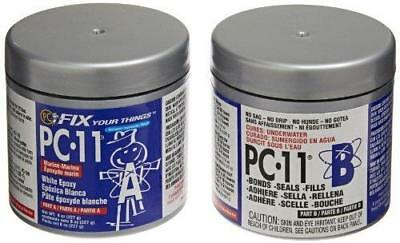 PC Products 80115 PC-11 Two-Part Marine Grade Epoxy Adhesive Paste, 1/2 lb in